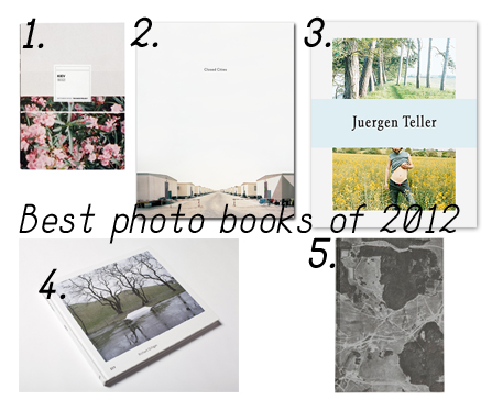 Best Photo Books of 2012