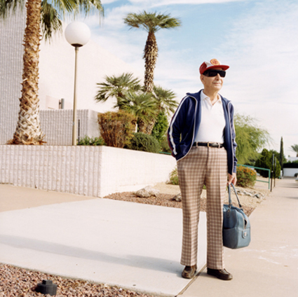 Man with a bag, Sun City, 2000